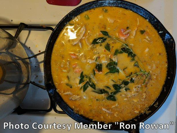 Red Curry Coconut Chicken