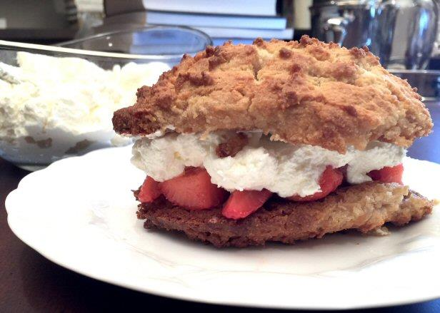 Grain-Free Strawberry Shortcake
