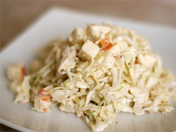 Sweet and Sour Cabbage Apple Slaw