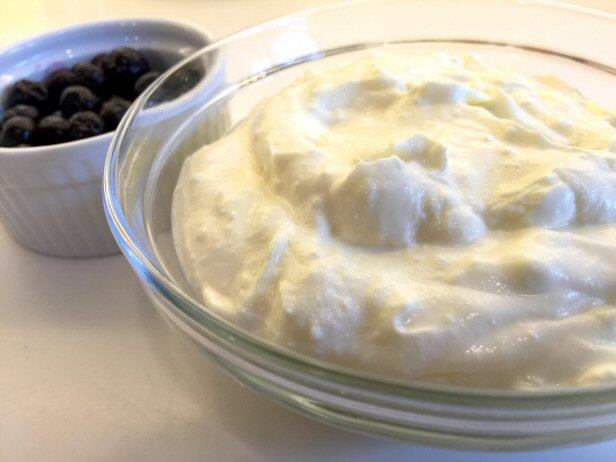 Homemade High-Fat Yogurt