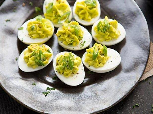 Wasabi Deviled Eggs | Only 1g Carb per serving!